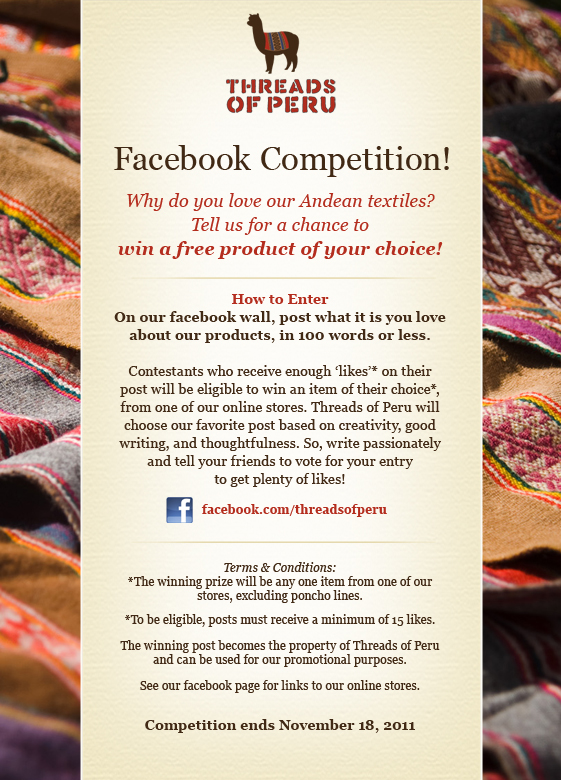 Facebook compettion image